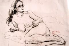 Erika Reclining Nude