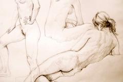 Woman in Figure Drawing